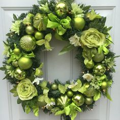 Lighted Christmas wreath, Christmas wreath, Winter Holiday wreath,... ($70) ❤ liked on Polyvore featuring home, home decor, holiday decorations, bscozycottagecrafts, integritytt, holiday wreaths, holiday home decor, xmas wreaths and christmas wreaths