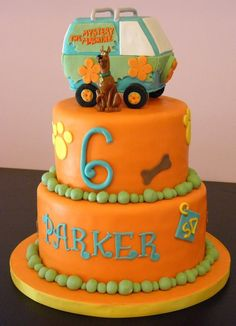 'Scooby Doo' Cake this would be a good grooms man cake for my bf when we get married. he loves scooby doo! Bolo Scooby Doo, Scooby Doo Birthday Cake, Order Cakes Online, Cake Online, Cupcakes, Cupcake Cakes, Gorgeous Cakes, Amazing Cakes, Movie Cakes