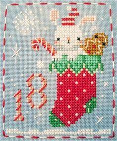 BBP Advent Animal #18 Remy Rabbit   Craftsy