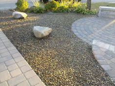 creative gravel landscaping ideas for your inspiration. basic gravel landscape pros of gravel for landscaping Gravel Landscaping, Home Landscaping, Landscaping Design, Paver Walkway, Brick Pavers, Decorative Gravel, Types Of Herbs, Low Maintenance Landscaping, Herb Garden