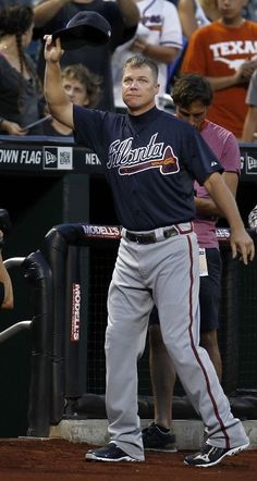 Chipper Jones, one of the best baseball players in the MLB!