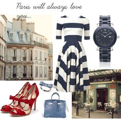 Paris, created by mrs-tango on Polyvore