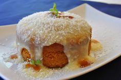 A aventura culinária!: Bolo de cenoura com porto e calda de leite condens...