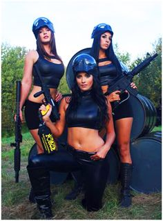 Girls and Paintball on Pinterest | 21 Pins