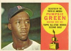 317 - Pumpsie Green RC, ASR - Boston Red Sox