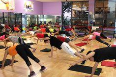 Calentamiento en la clase de MUSCULAR #fitness #fitnesstime #health #FlorenciaTeam
