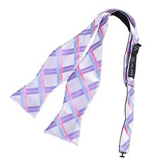 DBA7C09E Pink Blue Purple Plaids Bow Tie Microfiber Gift Idea For Christmas Self-tied Bow Tie By Dan Smith:   brHeadquartered in Sydney, Australia, FashionOn is a multichannel online retailer and wholesaler with huge range that has a strong focus on fashionable men's and women's accessories, including ties, bow ties, cufflinks, Ascots, vest sets, hankies, suspenders, cummerbunds, money clips, necklaces and bracelets. brbr FashionOn has a philosophy of continuous service improvement, wh...