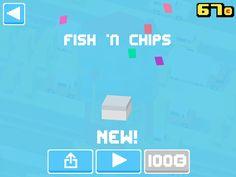 Just unlocked Fish 'n Chips! #crossyroad