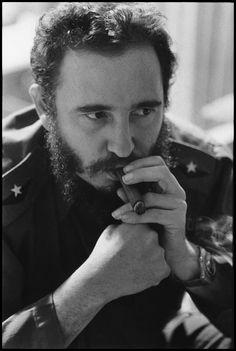 CUBA. Havana. 1966. Fidel CASTRO.