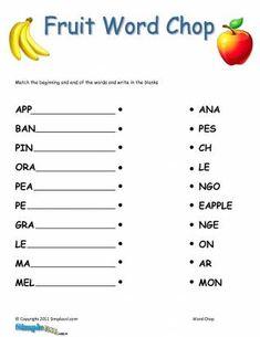 tracing words worksheet