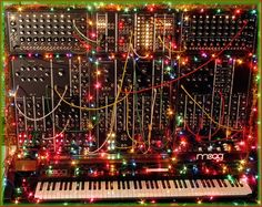 MATRIXSYNTH: Happy Holidays From Moog Music