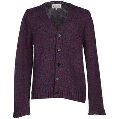 MAISON MARGIELA Tri-Colour Wool Cardigan. #maisonmargiela #cloth ...
