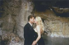"There was this beautiful colour picture from the legendary ""La Dolce Vita"" scene at La Fontana di Trevi. Oh Marcello..."