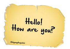 Jak powiedzieć hello po angielsku