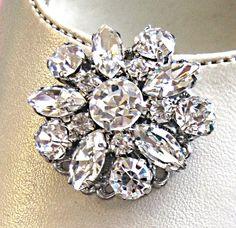 Enter Coupon code: PinFall to receive 10% off on any order! https://www.etsy.com/shop/MissJoansBridal  Wedding  Large Rhinestone flower Shoe Clips by MissJoansBridal, $27.50