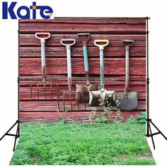 Find More Background Information about Kate Digital Printing Photography Background Retro Wood Wall Green Meadow Rusty Shovel For Children Photo Studio Backdrop,High Quality shovel price,China wall moon Suppliers, Cheap wall military from Art photography Background on Aliexpress.com