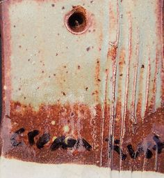 Cream Rust ^6 ox. Firing: Surface: Semiglossy  Amount Ingredient 22 Feldspar--Custer 2.7 Strontium Carbonate 25.4 Frit--Ferro 3134 8.8 Wollastonite 19.1 Talc 7 Kaolin--EPK 15.1 Silica  100.1 Total