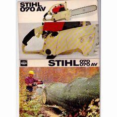Motosierra Stihl 070 - Vintage/Old Stihl 070 Chainsaw
