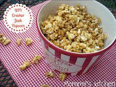 Mommy's Kitchen - Home Cooking & Family Friendly Recipes: Homemade Cracker Jack Popcorn  #popcorn #crackerjack #caramelcorn