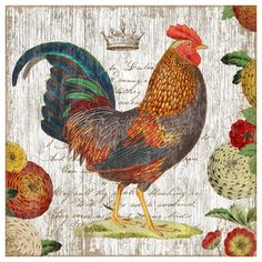 Found it at Wayfair - Suzanne Nicoll Rooster 1 Graphic Art Plaque http://www.wayfair.com/daily-sales/p/Rustic-%26-Weathered-Wall-Art-Suzanne-Nicoll-Rooster-1-Graphic-Art-Plaque~RLQ1330~E18834.html?refid=SBP.rBAZEVUd-sc43GcT6pb8AlCkWTI4wEUakQUUzZ6ynjI