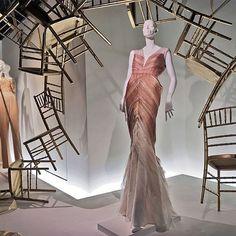 "NEIMAN MARCUS,Beverly Hills, Los Angeles,CA, ""It's much easier sitting down in the chair"", pinned by Ton van der Veer"