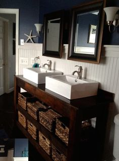 DIY Farmhouse Vanity!