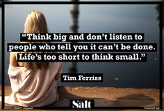 Quote from Tim Ferriss