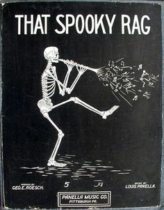 The spooky rag sheet music