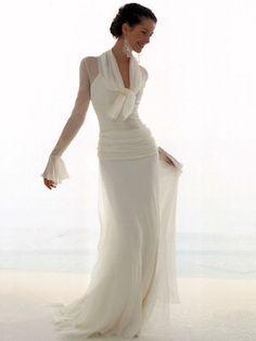 Créateur inconnu Robe Longue Chic, Belle Robe De Mariée, Robe Costume, Robe  Blanche 5ac2b8c7fea2