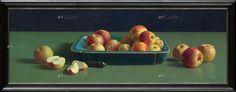 Image result for Blauwe bak met appels