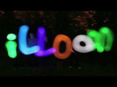 light up illoom Balloons, perfect for parties - YouTube