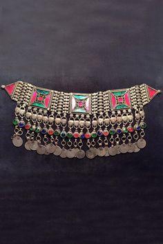 #Afgan #Tribal #Choker at #ShopBollywear  #fashion #jewelry #jewellers #fashion #Antique #jewellery