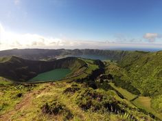 amazing places, travel, beautiful Witness firsthand the tremendous thrill of the Azores Lakes, Portugal.