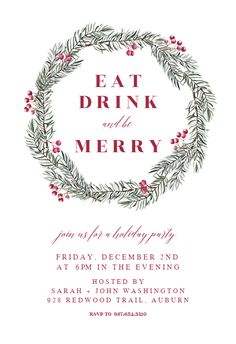 119 best christmas invitation templates images christmas templates