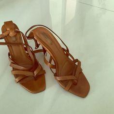 Zara sandals Leather Zara sandals Zara Shoes Sandals
