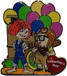 Pin 88819: DSF - Valentine's Day 2012 - Carl and Ellie - Kids
