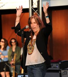 patti smith | Patti Smith & Her Band In Concert - Pictures - Zimbio
