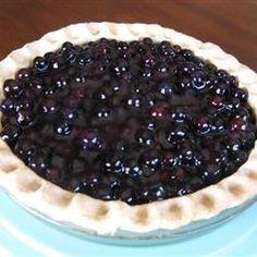 Five-Minute Blueberry Pie - Allrecipes.com
