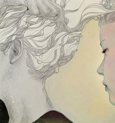 Dreamy Portrait Illustrations by Jo In Hyuk - My Modern Metropolis