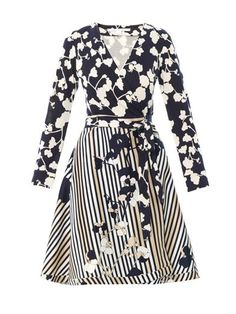 """If you're going to invest in one wrap dress, make it DVF."" Diane Von Furstenberg Amelia Dress"
