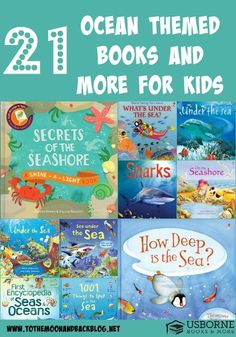 21 Ocean Themed Books for Kids
