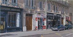Blv. Raspail, Paris Street View, Van, Paris, Painting, Vans, Painting Art, Paintings
