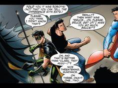 Superboy and Robin.