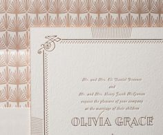 Pemberley copper and rose wedding invitations by hello tenfold for bella figura
