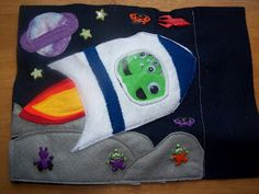 Books N Boys: Space Ship and Aliens Page