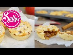Mini Apple Pies / Kleine Apfelpasteten / Fingerfood - Sallys Blog
