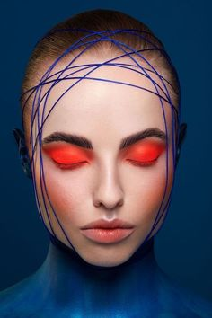 Creative Beauty Neon Eye Makeup with Body Painting inspired by The Regal Angel Fish by Karla Powell For Kuoni Travel Eye Makeup, Beauty Makeup, Makeup Brushes, Airbrush Makeup, Fish Makeup, Body Makeup, Makeup Remover, Hair Beauty, Art Visage