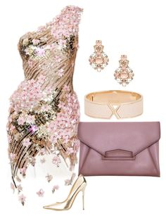 A fashion look from October 2015 featuring nude pumps, handbag purse and bangle bracelet. Browse and shop related looks. Classy Outfits, Stylish Outfits, Pretty Dresses, Beautiful Dresses, Mode Glamour, Look Fashion, Womens Fashion, Fashion Dresses, My Style