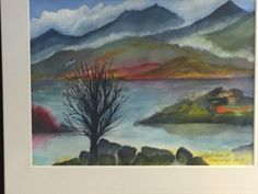 Haust i fjorden Painting, Art, Art Background, Painting Art, Kunst, Paintings, Performing Arts, Painted Canvas, Drawings