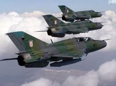 Mig 21, Croatian Air Force